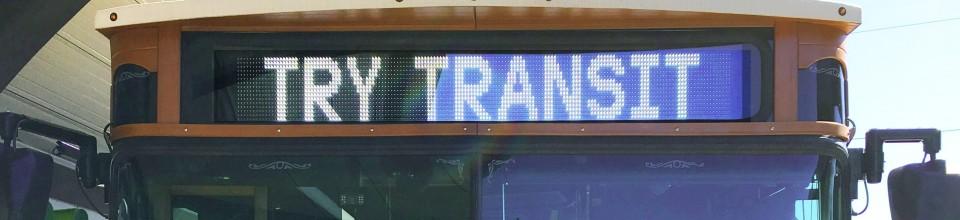 dot Express Shuttle Banner