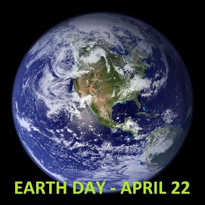 Earth Day picture of planet Earth in space