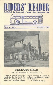 Newsletter cover from 1949