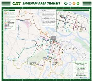 Maps Schedules Chatham Area Transit CAT - Us route 29 map