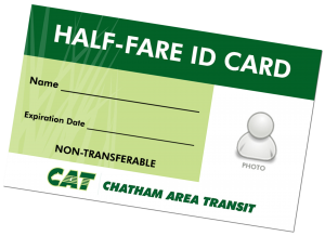 sample half-fare ID card