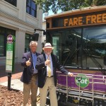 DOT shuttle Mayor and Durrence