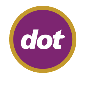 logo for the dot