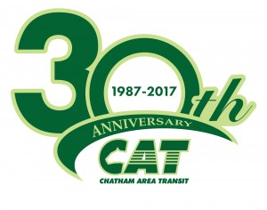 CAT logo for 30th anniversary