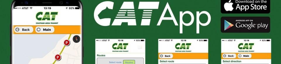 CAT Mobile App Banner