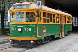 Savannah River St Streetcar