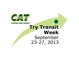 Try Transit Week 2013