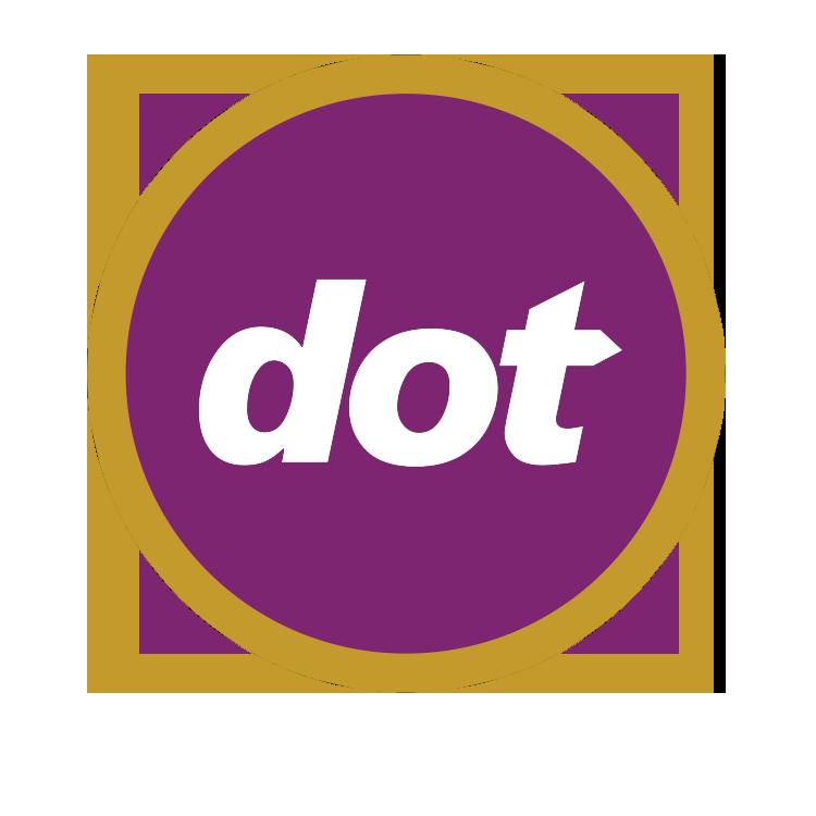 logo for the dot