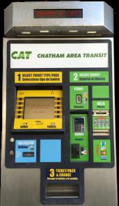 photo of Ticket Vending Machine