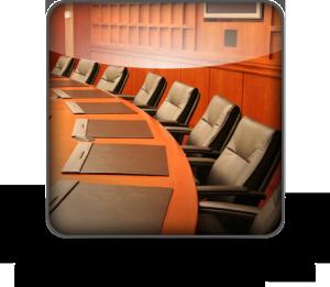 A board room