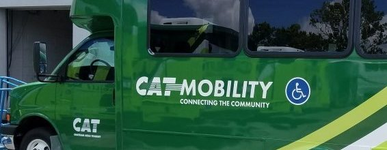 Paratransit Service/CAT Mobility Banner