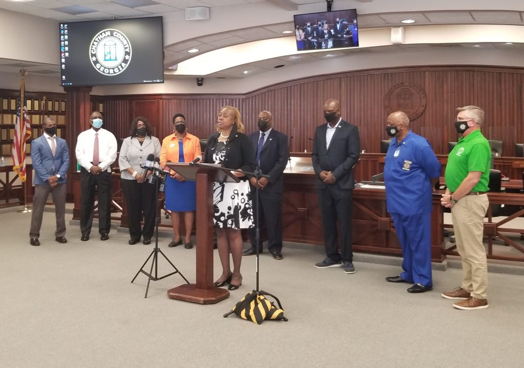Valerie Ragland and partners announced a vaccine incentive program on Sept. 13 during a press conference